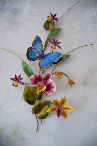 Costa Rican Blue Butterfly