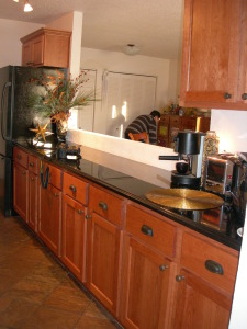 Pullman Kitchen with granite tops
